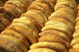 Freshly Baked Bread  Rabat  Morocco  North Africa  Africa