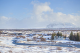 Thingvallabaer and River Oxara  Thingvellir National Park  UNESCO World Heritage Site  Iceland