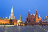 Red Square and the State History Museum  Moscow  Russia