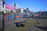 Old Anchor on Bristol Harbour  Bristol  England  United Kingdom  Europe