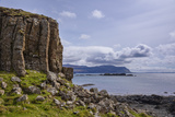 Basalt Columns  Rock Formation  Cliffs on Isle of Ulva