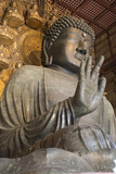 Daibutsu (Great Buddha) (Vairocana) Inside the Daibutsu-Den Hall of the Buddhist Temple of Todai-Ji