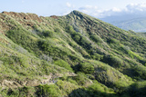 Hiking in Diamond Head State Monument (Leahi Crater)