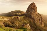 Roque De Agando  Mirador De Roques  Degollada De Agando  La Gomera  Canary Islands  Spain  Europe