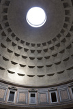 Interior View of the Cupola Inside the Pantheon  Piazza Della Rotonda  Rome  Lazio  Italy