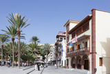 Town Hall at Plaza De Las Americas Square  San Sebastian  La Gomera  Canary Islands  Spain  Europe