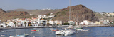 Fishing Boats at the Harbour  Playa De Santiago  La Gomera  Canary Islands  Spain  Atlantic  Europe