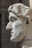 Head of Constantine 1  Dated Ad 4  Capitoline Museum  Ancient Rome  Rome  Lazio  Italy