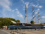 The Renovated Cutty Sark  Greenwich  London  England  United Kingdom