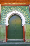 Entrance to Mosque  Tangier  Morocco  North Africa  Africa
