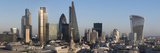 City Panorama from St Pauls  London  England  United Kingdom