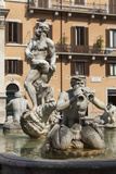 Fontana Del Moro  by Bernini  Piazza Navona  Rome  Lazio  Italy