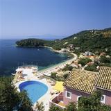 View over Bay  Kalami  North East Coast  Corfu  Ionian Islands  Greek Islands  Greece