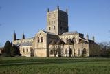 Tewkesbury Abbey (Abbey Church of St Mary the Virgin)  Tewkesbury  Gloucestershire  England  UK