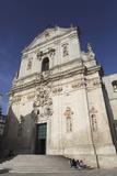 The Baroque Style Basilica of St Martin (Basilica San Martino) in Martina Franca  Apulia  Italy
