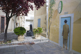 Mural in the Town of Sigean  Languedoc-Roussillon  France