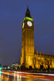 Big Ben at Dusk  London  England  United Kingdom