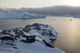 A View of Ilulissat Icefjord  Greenland  Denmark  Polar Regions