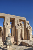 Hypostyle Hall  the Ramesseum (Mortuary Temple of Ramese Ii)  Luxor