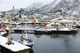 Svolvaer  Lofoten Islands  Nordland  Arctic  Norway  Scandinavia