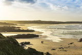 Sunrise at Gwithian Beach  Cornwall  England  United Kingdom