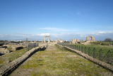 The Main View of the Quintili's Villa Built in the 2nd Century BC on the Appian Way