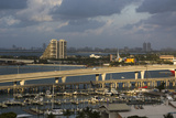 Port Boulevard and Bayside Marina  Downtown  Miami  Florida  Usa