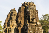 Four-Faced Towers in Prasat Bayon  Angkor Thom  Angkor  Siem Reap  Cambodia
