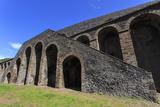 Amphitheatre Exterior Detail  Roman Ruins of Pompeii  UNESCO World Heritage Site  Campania  Italy