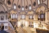 Interior of Little Aya Sofya Mosque (Kucuk Ayasofya Camii)  Sultanahmet  Istanbul  Turkey