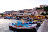 The Port of Pythagorio  Samos Island  North Aegean Islands  Greek Islands  Greece  Europe