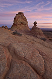 Sandstone Formations at Sunrise
