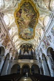Interior of the Romanesque St Emmeram's Basilica (Abbey) Now known as Schloss Thurn Und Taxis