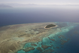 Aerial Photography of Coral Reef Formations of the Great Barrier Reef