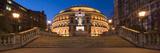 Exterior of the Royal Albert Hall at Night  Kensington  London  England  United Kingdom  Europe