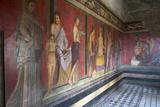 In the Triclinium  Villa Dei Misteri  Pompeii  Campania  Italy