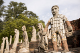 Sculptures at the Rock Garden  Built by Nek Chand  Chandigarh  Punjab and Haryana Provinces  India