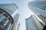 Brand New Skyscrapers in Jianggan District of Hangzhou  Zhejiang  China