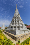 Stupa in the Royal Palace  in the Capital City of Phnom Penh  Cambodia  Indochina