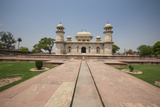 A Footpath Leads to the Sandstone Mausoleum of the Moghul Emperor Humayun