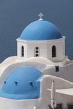 Church at Oia  Santorini  Cyclades  Greek Islands  Greece