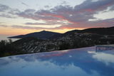 Infinity Pool at Sunset  Mediteran Hotel  Kalkan