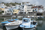Fishing Boats at Borgo Sant' Angelo  Ischia  Campania  Italy  Europe