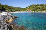 Picturesque Beach Near Hvar Town  Hvar  Dalmatia  Croatia  Europe