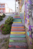 Colourful Street  Valparaiso  Chile