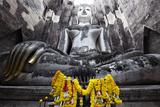 A Giant Sukhothai Era Sitting Buddha  Wat Si Chum  Sukhothai Historical Park  Thailand