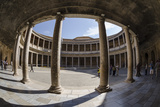 Palace of Charles V  Alhambra  Granada  Province of Granada  Andalusia  Spain