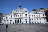 The Admiralty Building  Valparaiso  Chile
