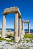 Acropolis of Lindos  Rhodes  Dodecanese Islands  Greek Islands  Greece  Europe