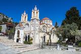 Church in Sianna Village  Rhodes  Dodecanese Islands  Greek Islands  Greece